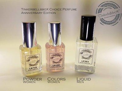 TinkerbellsboX Choice Perfume Colors (women)