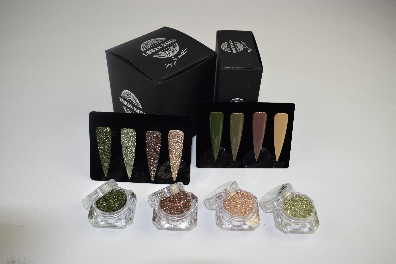 Urban Nails Army Gelpolish Collections