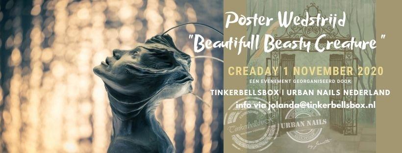 Ticket Posterwedstrijd Beautiful Beasty Creature 2020