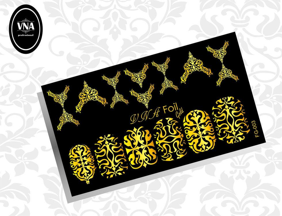 Foil gold slider: FG-003