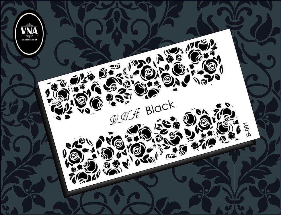 Black slider: B-001