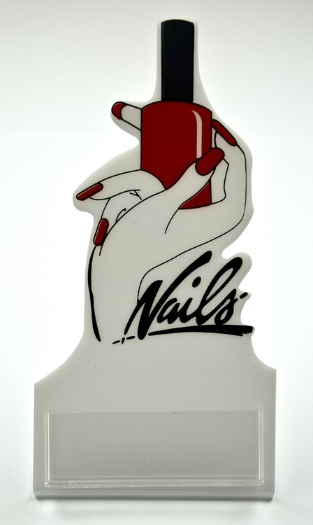 Card holder nails