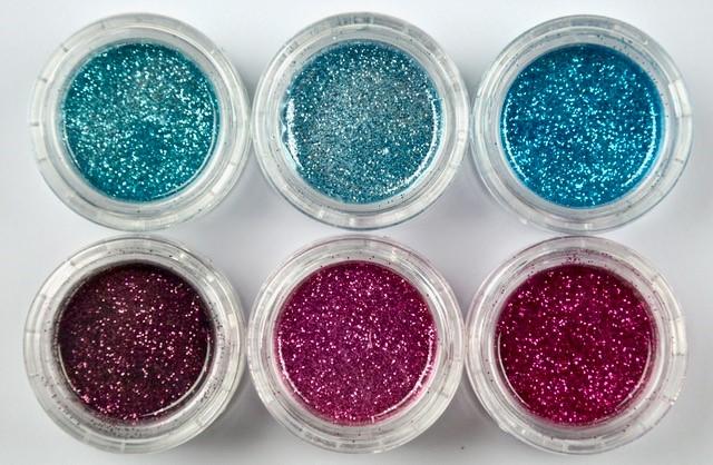 Blue - Pink - Glitter