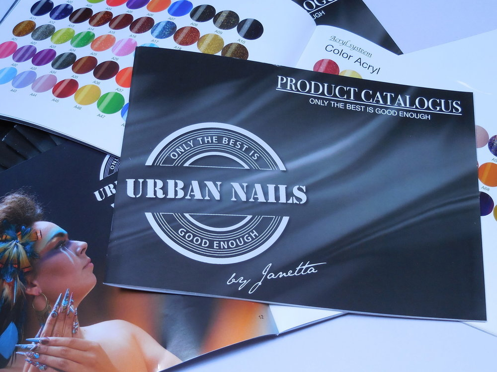 Urban Nails Producten Catalogus