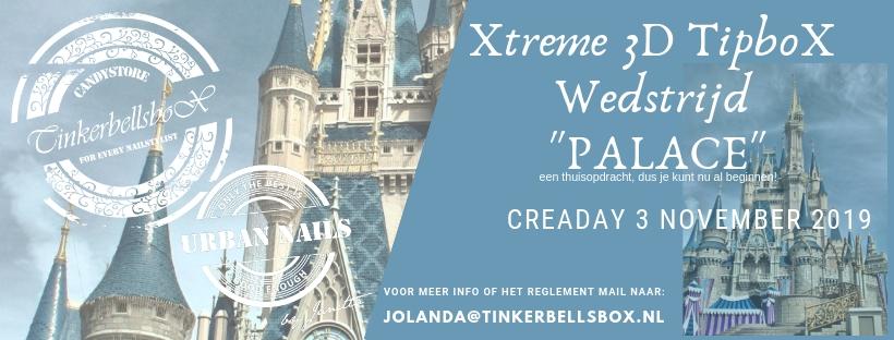 Ticket Tipbox Wedstrijd Palace Gevorderden CreaDay 3 november 2019