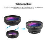 Apexel APL-0.45WM   Wide Angle & Macro Lens_