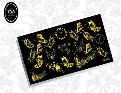 Foil gold slider: FG-002