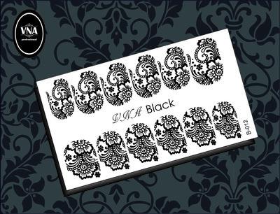 Black slider: B-012