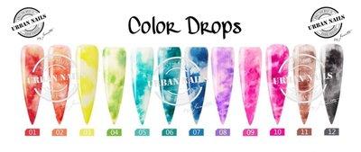 Urban Nails Color Drops collectie van 6 kleuren naar keuze
