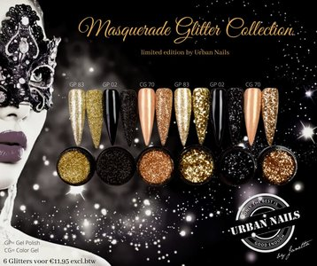 Masquerade Collection, Limited bij Urban Nails