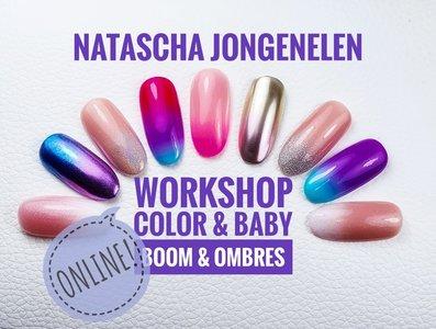 Online workshop Color & Baby Boom en Ombres