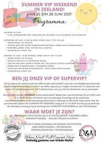 SUPER VIP TICKET zaterdag 26 juni 2021