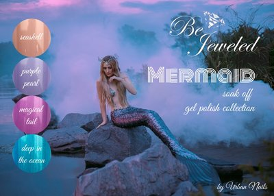 Urban Nails Mermaid Gelpolish Collections