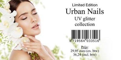 Urban Nails UV Glitter Collectie