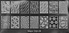 Stempelplaat Major Dijit 09